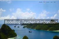 Bodeblog-Tauchen in Indonesien
