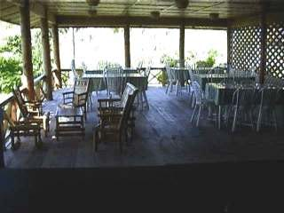 Veranda of Maleo Cottages